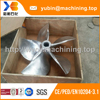 CNC machining stainless steel marine metal propeller for ship