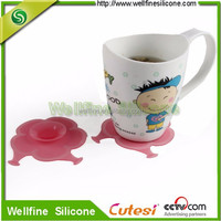 Colorful heat resistant silicone bowl suction base