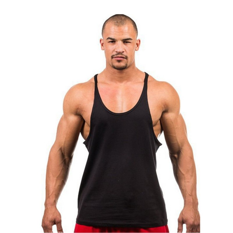 Golds Gym Stringer Tank Top Men Bodybuilding Clothing and Fitness Mens Sleeveless Shirt Sports Vests Cotton Singlets Muscle Tops