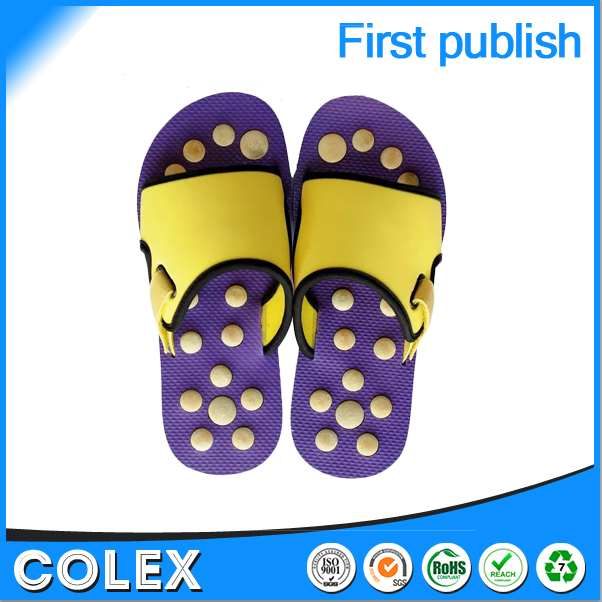 Bamboo slippers shoes slipper massaging shoes footwear shoes