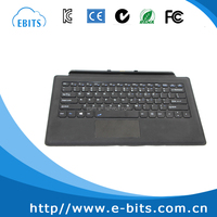 Manufacture professional 11.6 inch tablet pc leather keyboard case