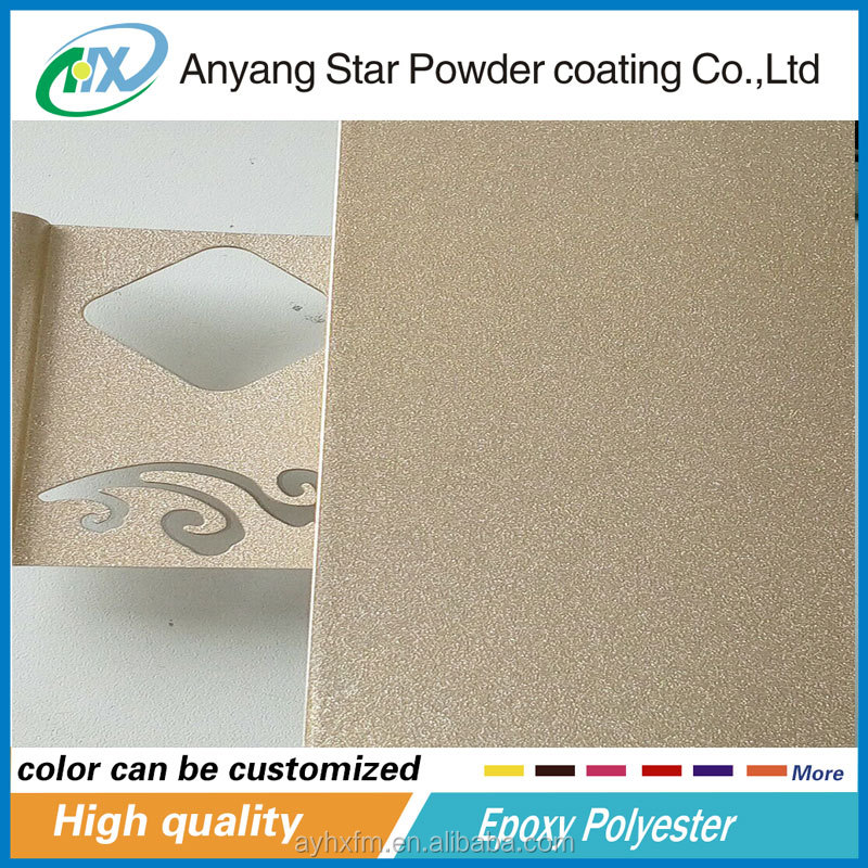 Thermal Transfer Powder Coating can used on ceiling sheets Spray Epoxy Powder Coating