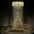 Modern villa stair crystal chandelier