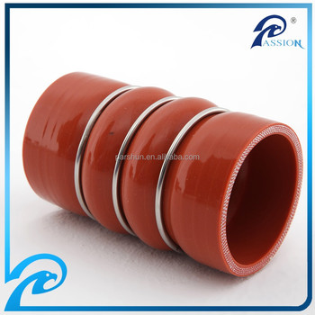 Professional 3 Inch Straight Silicone Rubber Hump Hose With Rings