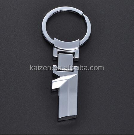 Fashion Zinc Alloy Metal Car Logo Chaveiro Keychain Key Chain Key Ring Keyring For BMW 1 Key Holder