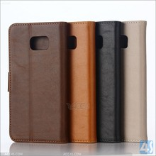 New luxury hot product China factory OEM fast delivery mobile phones leather case for samsung galaxy s6 edge plus