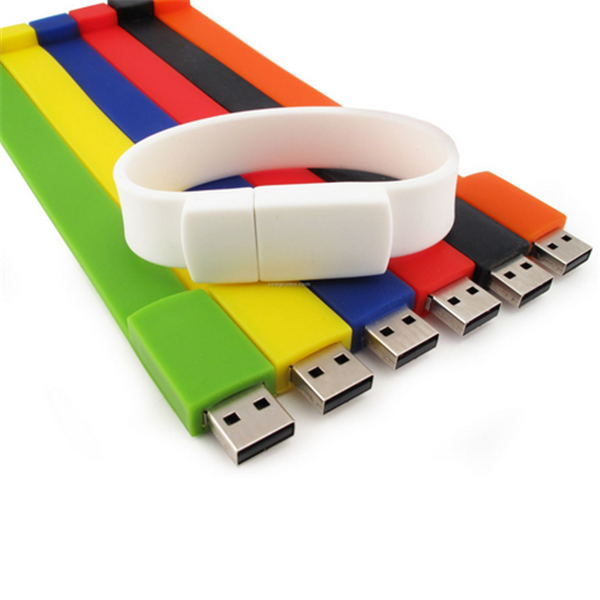 Promotional wristband usb flash drive for 2.0 drive,USB flash drive silicone wristbands,Cheap usb silicone wrist band