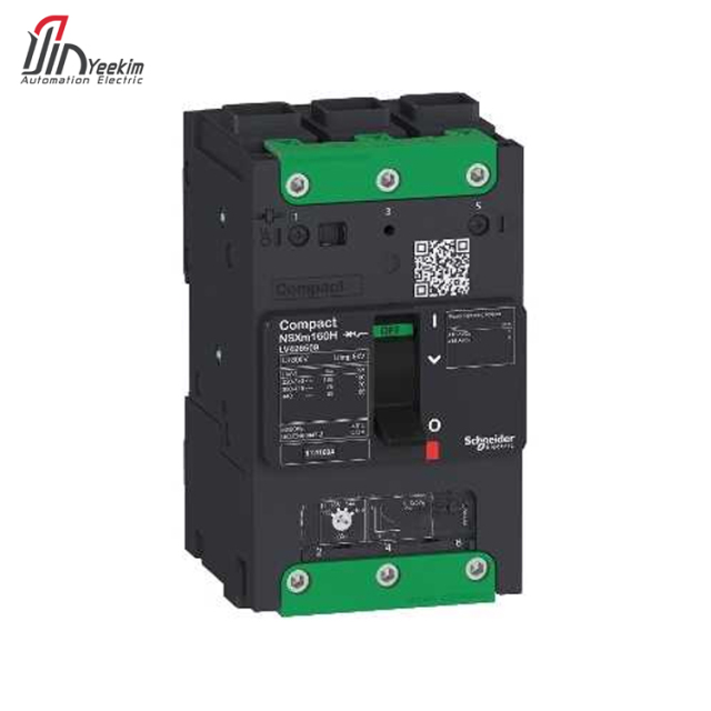 High quality schneider smallest size molded case circuit breakers mccb up 16 to 160 A