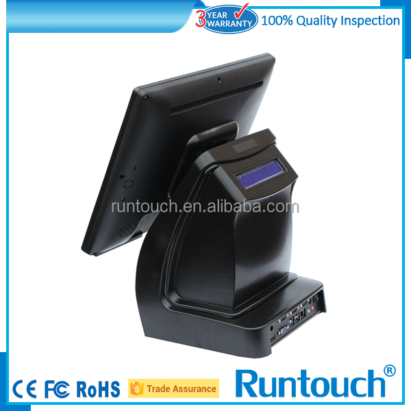 Runtouch NEW 15 inch slim, waterproof, fanless touchscreen POS system
