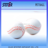wholesale foam rubber dog ball soft rubber ball for pets