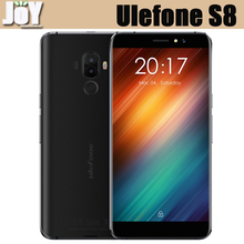 New 5.3 Inch Android 7.0 MTK6580 Quad Core Dual Rear Camera 4G LTE Mobile Phone Ulefone S8