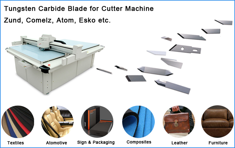 Tungsten Carbide ZUND Plotter Blades Z20