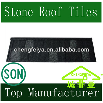 Stone Coated Roof Tile Shingle With Patch