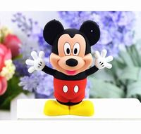 New style Cute cartoon Mickey&Minnie usb flash drive 4g/8g/16g/32g pen drive External Memory Storage Pen Drive