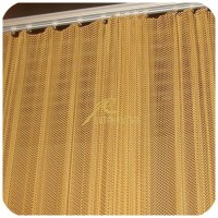 Room curtain,room divider,Metal coil drapery