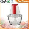 2017 Hot Style Portable Electric Chopper With Glass Jar Apple