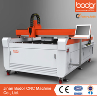 Large format fiber laser cutter type 1325 metal laser cutting machine 500w with high speed