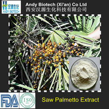 FDA Certified 100% Natural Low Price Saw Palmetto Extract