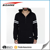 Customized europe style mens sport fleece zipper-up sweater