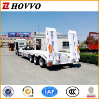 3 Axles Lowboy Semi Trailer For