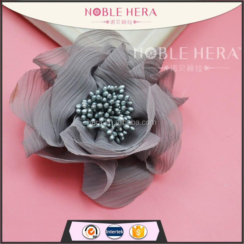 Plastic artificial flowers hair clip korean hair claw clip 20HA