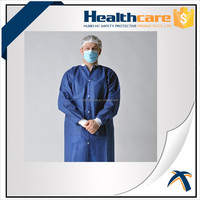 Disposable Nonwoven Visit Gown,Lab Coat
