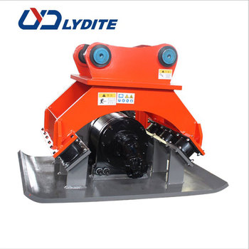 LYD BYCK series hydraulic compactor plate compactor machine excavator compaction plate and vibration plate for excavator on sale