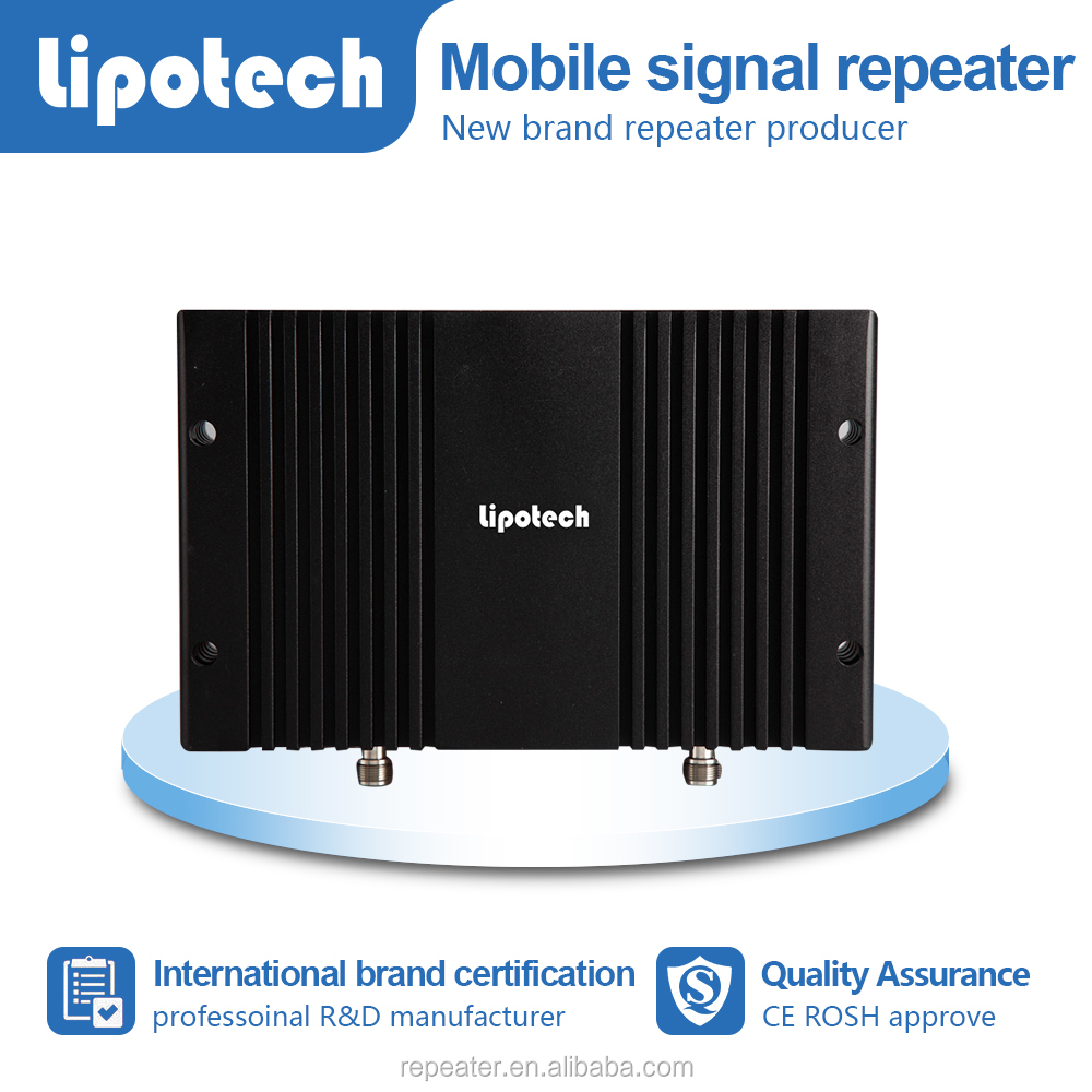 Wholesale Dual band 900 1800 signal booster wireless wifi gsm signal booster repeater with lcd screen
