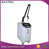 Birthmark Removal Q Switched ND YAG Laser Articulated Arm Adjustable Spot Size Tattoo Removal Laser Machine