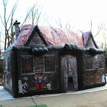 Wholesale Halloween Skull Halloween Inflatable Haunted Houses