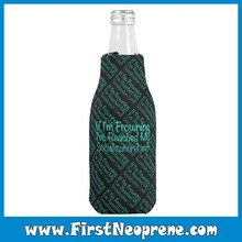 IT Sense Of Digital Technology Neoprene Beer Bottle Cooler Stubby