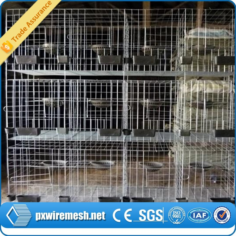 china supplier plastic rabbit cage trays pink rabbit cage