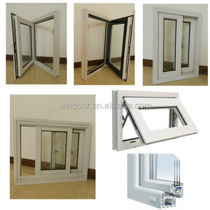UPVC Windows and Doors/ PVC windows and doors tilt and turn window cheap house windows for sale