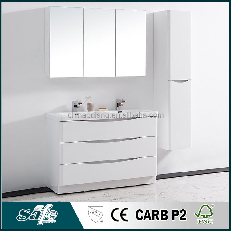 MDF paint mirror cabinet japan bathroom furniture