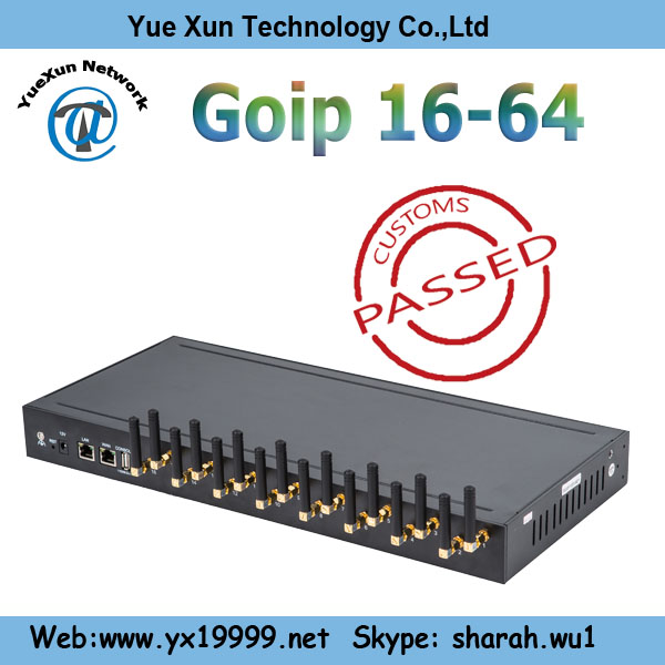 YX 16/64 GSM VOIP Gateway,best selling goip 16 channels gateway online payment gateway