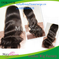 silk top full lace wigs body wave wholesale virgin malaysian hair wig with natural hairline