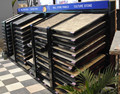 CX009 exhibition shelf for tiles and culture stone veneer