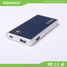 guangdong the charger cell phone portable slim power bank 5000 mah 5200mah 5800mah