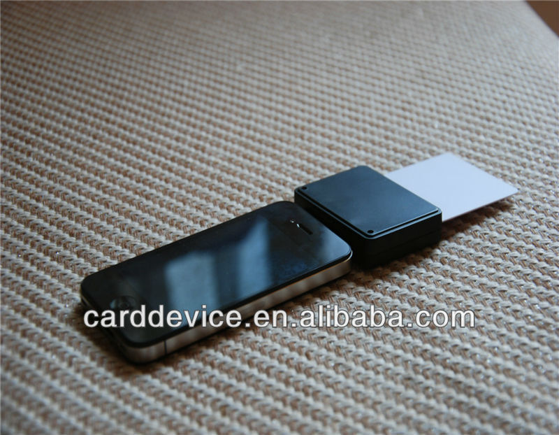 Mobile phone chip EMV IC card reader for android/ios - aSoc