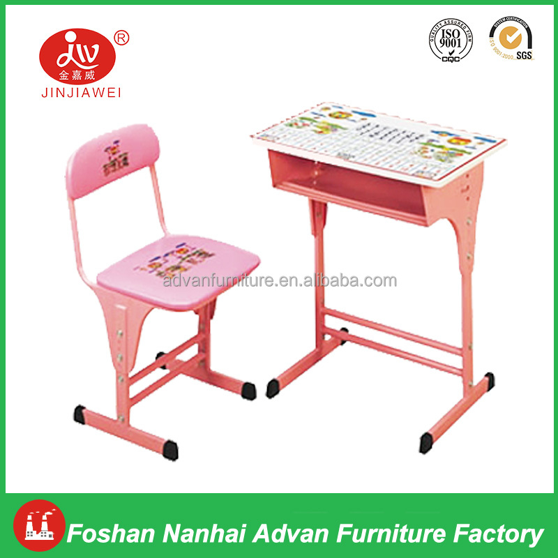 Cartoon School Desk And Chair Cheap Single Desks And Chairs