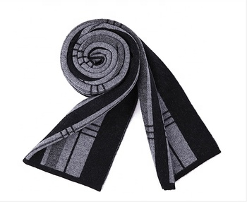 100 wool new fashion wrap scarf high quality stock scarves for men