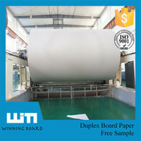 indonesia paper manufacturers single duplex paper triplex board stocklot