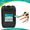 Water resistance for writing brush holder liquid uv varnish