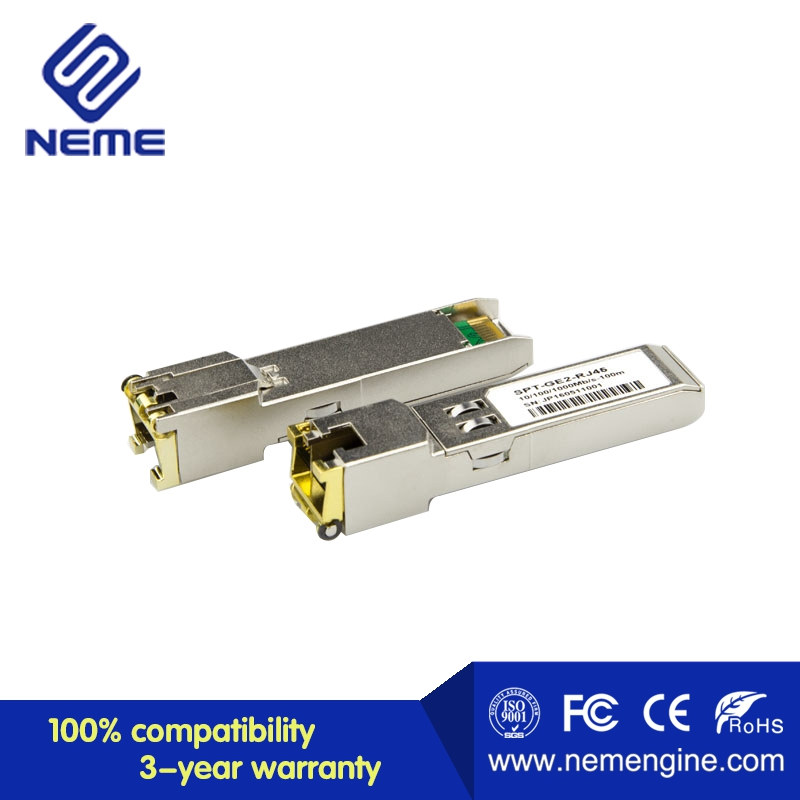 Cisco Compatible Gigabit RJ45 Copper SFP Transceiver Module