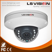 LS VISION AHD/TVI/CVI/ CVBS 4 in 1 Hybrid IP66 IR Color Megapixel Dome IP Camera
