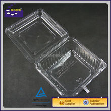 square plastic tray large for fruit market