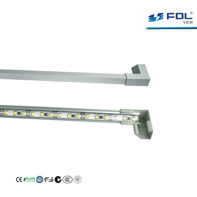 Jewelry Lighting Aluminum LED Profile Ra95 IP20 18W LED Rigid Strip Light