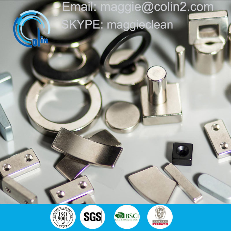Economical Powerful Magnetic Zinc Coating Block Magnets