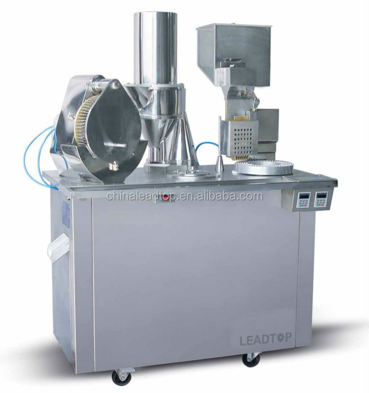 Semi capsule filler & automatic capsule filling machine