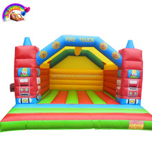 Fire truck inflatable bouncer/air jumping castle inflatable bouncer